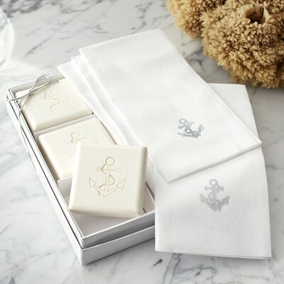 Anchor Gift Set Color: Silver