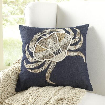 Sebastian Embroidered Pillow Cover