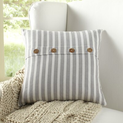 Sybil Pillow Cover Color: Blue/White