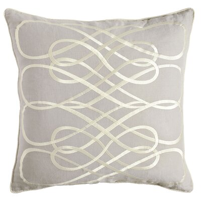 Kristen Pillow Cover Size: 18 H x 18 W x 1 D, Color: Beige