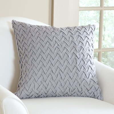Lane Pillow Cover Size: 18 H x 18 W x 1 D, Color: Stone