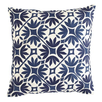 Kochi Cotton Pillow Cover Size: 20 H x 20 W, Color: Parchment