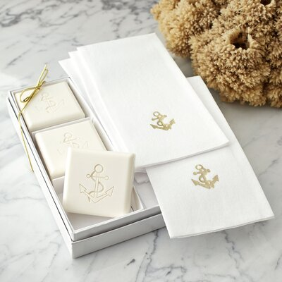 Anchor Gift Set Color: Gold