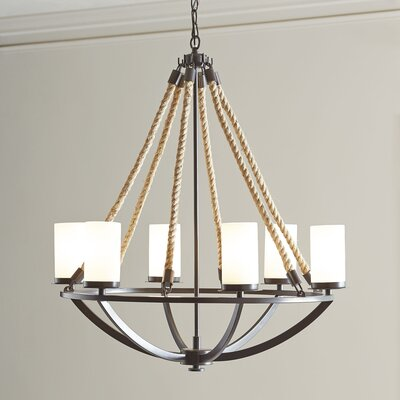Worthington 6-Light Candle-Style Chandelier