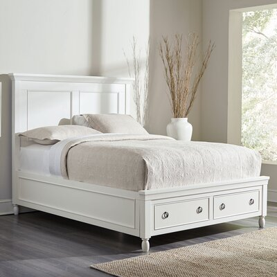 McGregor Storage Bed Size: King