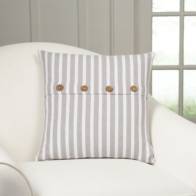 Sybil Pillow Cover Color: Grey/White