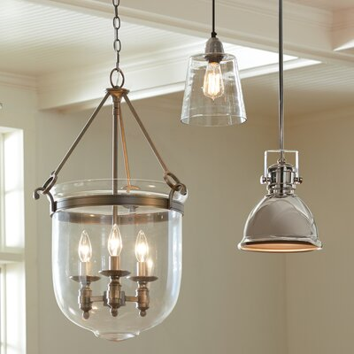 Oxford Schoolhouse Pendant Finish: Oil-Rubbed Bronze
