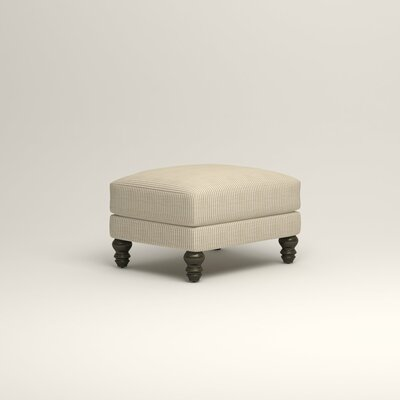 Montgomery Upholstered Ottoman Upholstery: Astere Cocoa