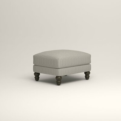 Montgomery Upholstered Ottoman Upholstery: Cruise Adrift