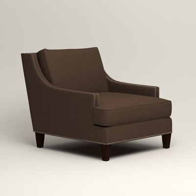Larson Nailhead Trim Chair Color: Tillery Espresso