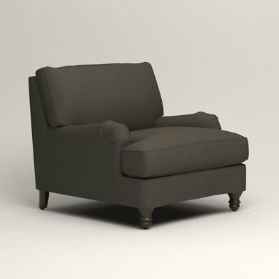 Montgomery Armchair Upholstery: Tibby Pewter