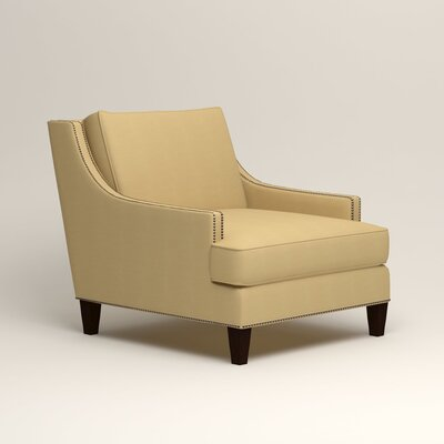 Larson Nailhead Trim Chair Color: Tillery Sunglow