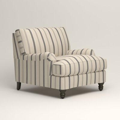 Montgomery Armchair Upholstery: Mcallister Indigo