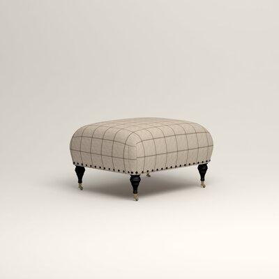 Shephard Ottoman Upholstery: Stedman Natural