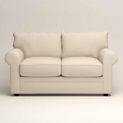 Newton Loveseat Upholstery: Tillery Vanilla