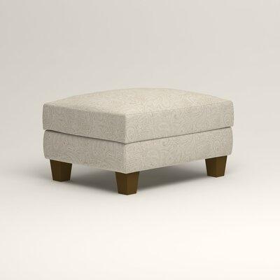 Kerry Ottoman Upholstery: Ronan Linen