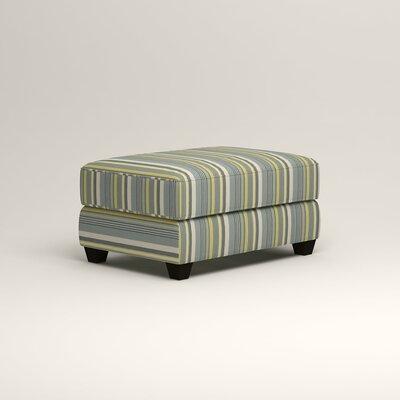 Hawthorn Ottoman Upholstery: Dunagen Ocean