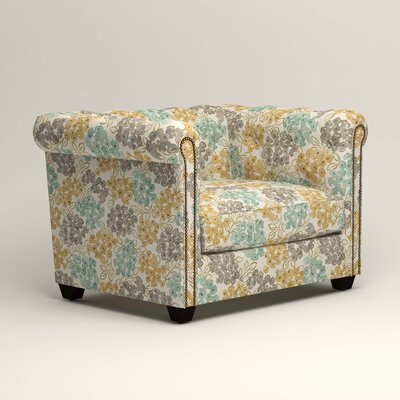Hawthorn Chair Color: Wilmer Blooming Pool