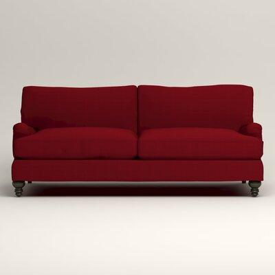 Montgomery Upholstered Sofa Upholstery: Bayou Flame