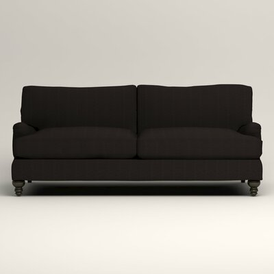 Montgomery Upholstered Sofa Upholstery: Hilo Graphite