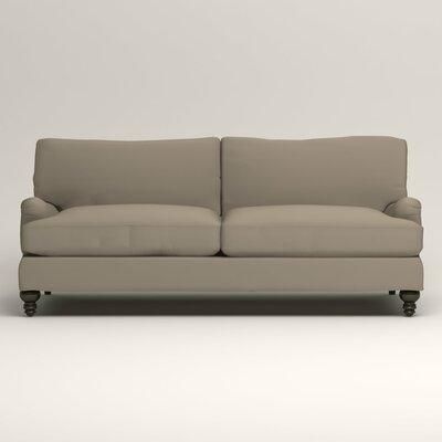 Montgomery Upholstered Sofa Upholstery: Tibby Linen