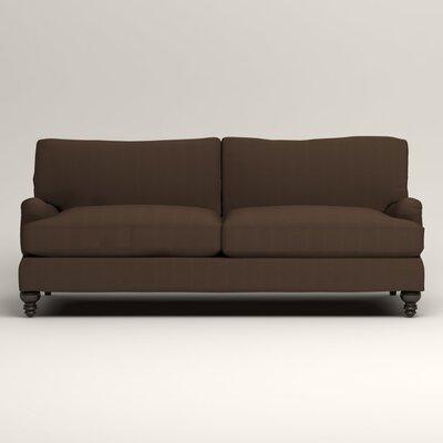 Montgomery Upholstered Sofa Upholstery: Bayou Coffee