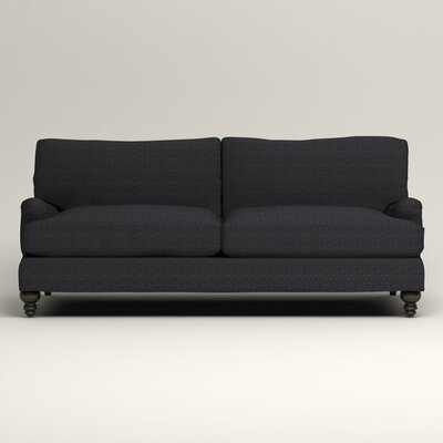 Montgomery Upholstered Sofa Upholstery: Laney Navy