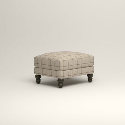 Montgomery Upholstered Ottoman Upholstery: Stedman Natural