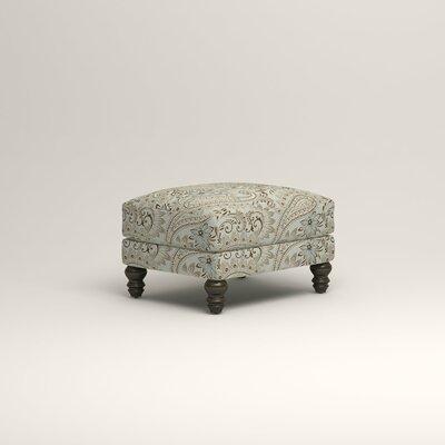 Montgomery Upholstered Ottoman Upholstery: Nadia Moonstone