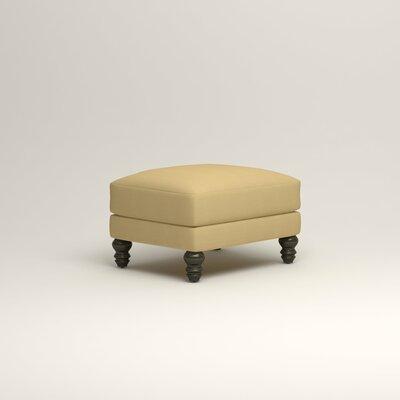 Montgomery Upholstered Ottoman Upholstery: Bayou Sunshine