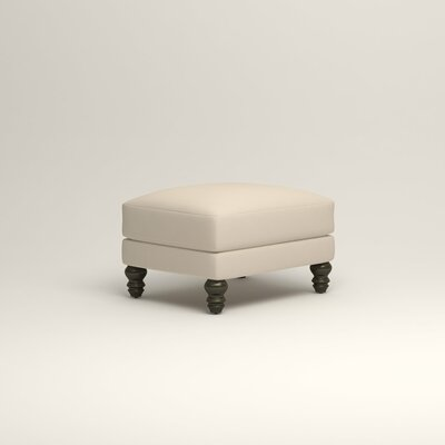 Montgomery Upholstered Ottoman Upholstery: Bayou Natural