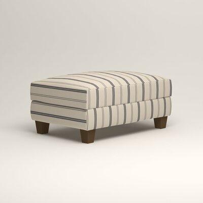 Fairchild Ottoman Upholstery: Mcallister Indigo