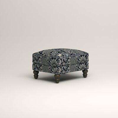 Montgomery Upholstered Ottoman Upholstery: Nadia Denim