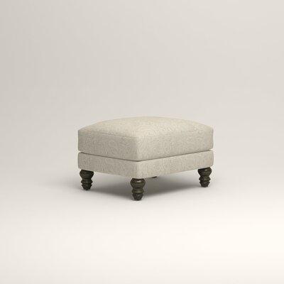 Montgomery Upholstered Ottoman Upholstery: Ronan Linen