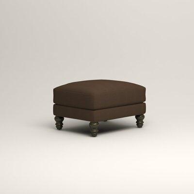 Montgomery Upholstered Ottoman Upholstery: Bayou Coffee