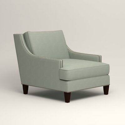 Larson Nailhead Trim Chair Color: Tillery Mint