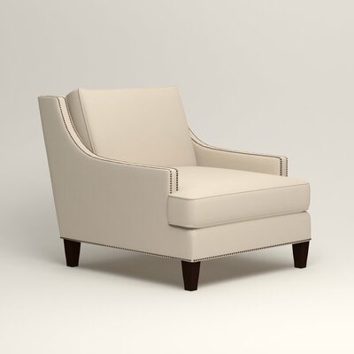 Larson Nailhead Trim Chair Color: Tillery Vanilla