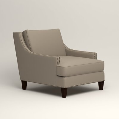 Larson Nailhead Trim Chair Color: Jemma Silver Mist