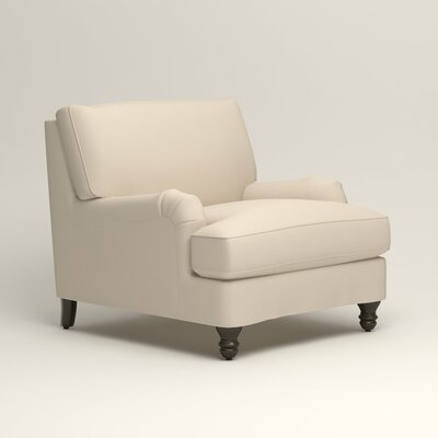 Montgomery Armchair Upholstery: Bayou Natural