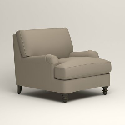 Montgomery Armchair Upholstery: Tibby Linen