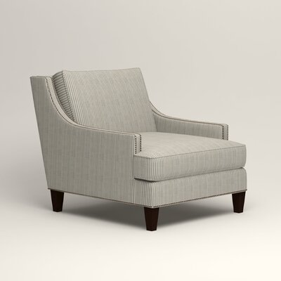 Larson Nailhead Trim Chair Color: Douglas Harbor Stripe