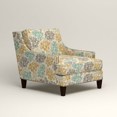 Larson Nailhead Trim Chair Color: Wilmer Blooming Pool