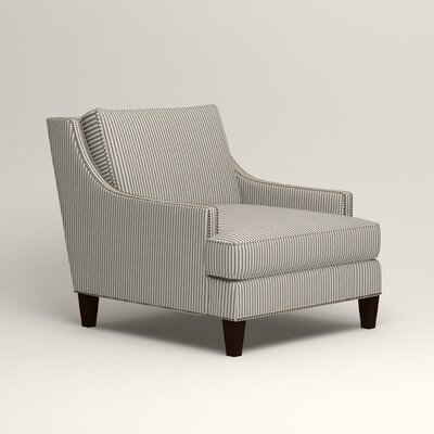Larson Nailhead Trim Chair Color: Kennon Saltwater Navy
