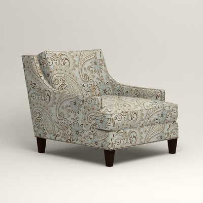 Larson Nailhead Trim Chair Color: Wallace Moonstruck Paisley