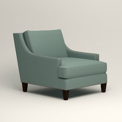 Larson Nailhead Trim Chair Color: Bryant Calypso Textured Slub