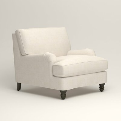 Montgomery Armchair Upholstery: Bevin Natural