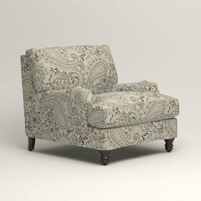 Montgomery Armchair Upholstery: Nadia Moonstone