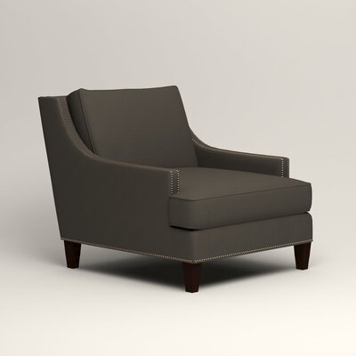Larson Nailhead Trim Chair Color: Jemma Storm Gray