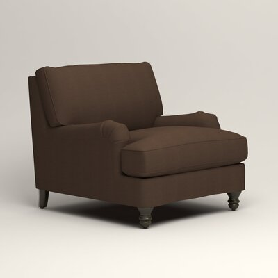 Montgomery Armchair Upholstery: Bayou Coffee