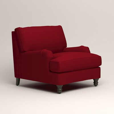 Montgomery Armchair Upholstery: Bayou Flame